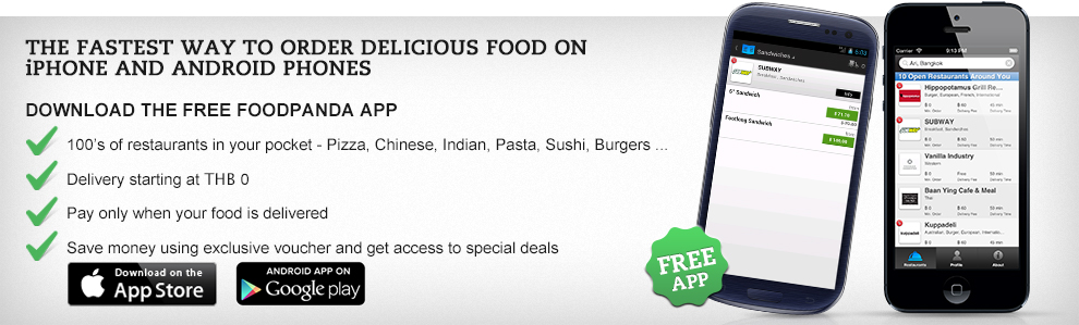 order food via apps